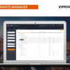 Vimond Media Solutions Announces an Improved Workflow for its Rights Manager