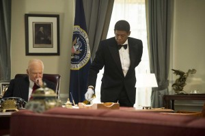 Robin Williams (left) and Forest Whitaker star in Lee Daniels' The Butler.