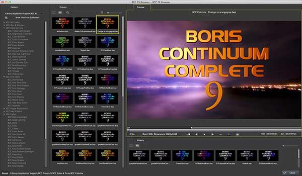 Boris FX Announces Boris Continuum Complete 9 - Below the Line
