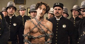 Adrien Brody as Harry Houdini. (Photo by Colin Hutton).