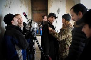 Behind the scenes of Chrysalis.