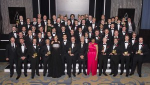 The winners of the Academy's Scientific and Technical Achievement Awards. (All photos by Michael Yada / ©A.M.P.A.S.)