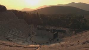 LR-22 Epidaurus_Sunset