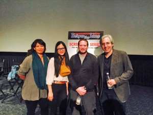 From left: Cindy Chao, Michele Yu, Jon Corn, Paul Weitz