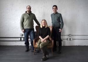 From left: VFX supervisor Nate Overstrom, executive producer Colleen Bachman and VFX supervisor Jeff Wozniak.