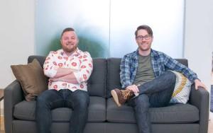Ben Thompson (left) and Aaron Nelson.