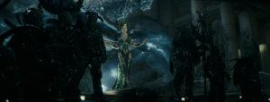 CG-enhanced villain Enchantress (played by Cara Delevingne)