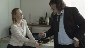 Left to right: Sandra Hüller as Ines and Peter Simonischek as Winfried/Toni Erdmann @ Komplizen Film, Courtesy of Sony Pictures Classics.