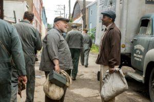 Denzel Washington and Stephen McKinley in Fences (2016)