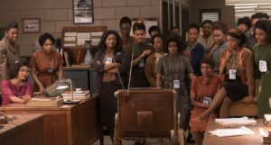 Taraji P. Henson, Octavia Spencer, and Janelle Monáe in Hidden Figures