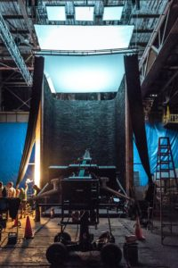 Image of the set of the film Arrival by Paramount Pictures Photo credit: Jan Thijs