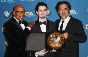 Damien Chazelle, Paris Barclay and Alejandro Iñárritu