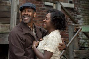 Denzel Washington & Viola Davis in Fences