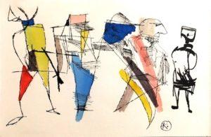 Artwork by Seymour Klate