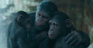 War for the Planet for the Apes via Weta Digital