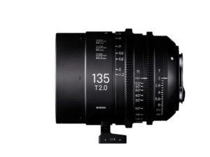 Sigma's 135mm T2 FF Cine Prime Lens