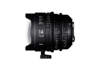 Sigma's 14mm T2 FF Cine Prime Lens