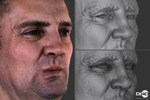 DI4D facial performance capture