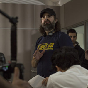 Photo of Joe Lynch, director of Mayhem
