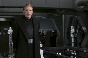 Star Wars: The Last Jedi..General Hux (Domhnall Gleeson) ..Photo: David James..©2017 Lucasfilm Ltd. All Rights Reserved.