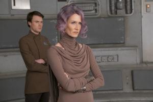 Laura Dern is Amilyn Holdo in THE LAST JEDI.