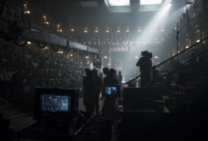 4106_D049_00321_CROP Cast and crew filming on the set of director Joe Wright's DARKEST HOUR, a Focus Features release. Credit: Jack English / Focus Features