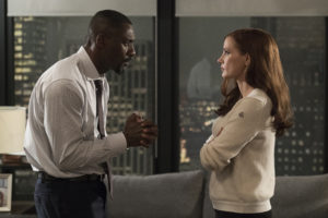 Idris Elba and Jessica Chastain star in MOLLY'S GAME