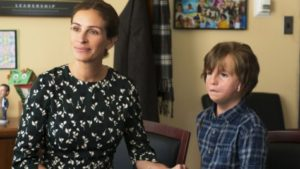 Julia Roberts & Jacob Tremblay, by Dale Robinette