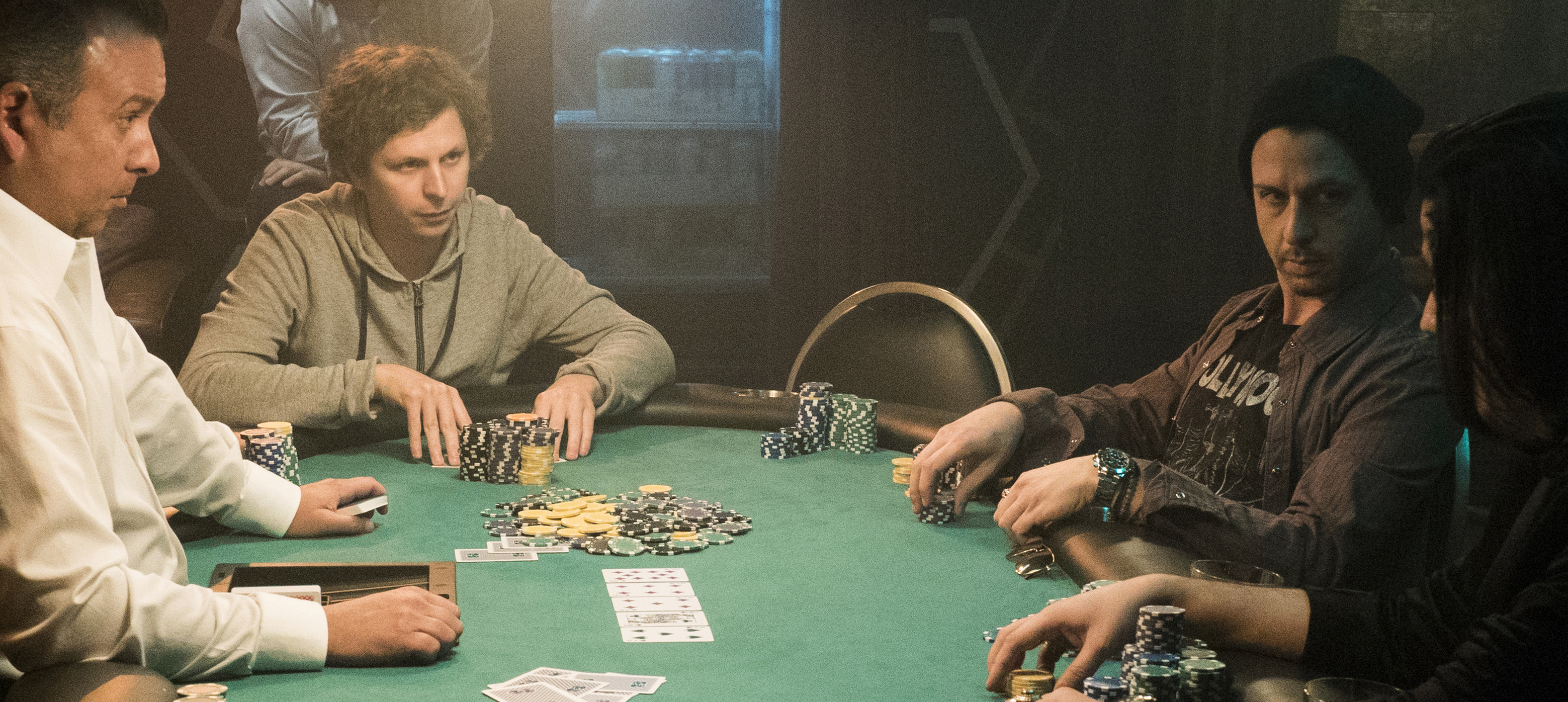 Michael Cera and Jeremy Strong star in MOLLY'S GAME