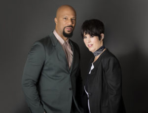 Common and Diane Warren. The photo credit is by Rochelle Brodin