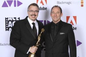Golden Eddie Honoree Vince Gilligan, Skip Macdonald, ACE
