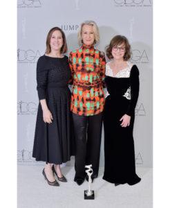 Kathleen Kennedy, Joanna Johnston and Sally Field