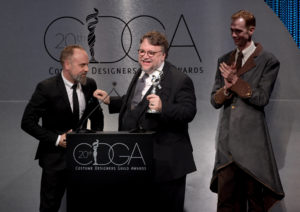 Luis Sequeira, Doug Jones and Guillermo del Toro