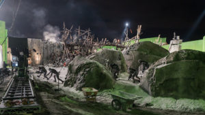 The set of War For The Planet of The Apes