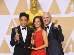 Kazuhiro Tsuji, Lucy Sibbick, and David Malinowski