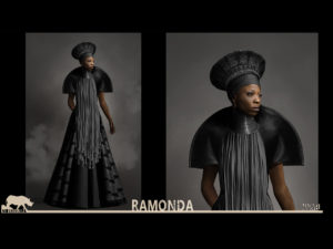 Ramonda from Black Panther