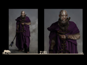 Zuri Costume Design for Black Panther