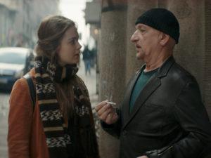 Hera Hilmar with Ben Kingsley
