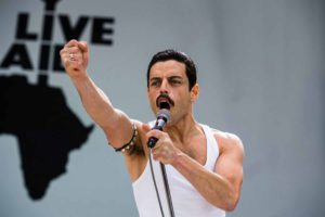 Rami Malek stars as Freddie Mercury in Twentieth Century Fox's Bohemian Rhapsody. (Photo by Alex Bailey).