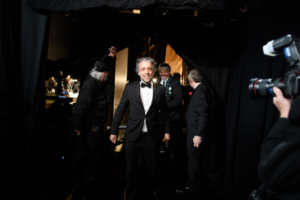 Paul Lambert poses backstage with the Oscar® for achievement in visual effects during the live ABC Telecast of The 91st Oscars® Credit: Matt Petit / ©A.M.P.A.S.