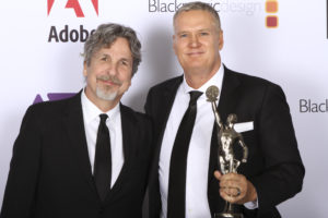 Peter Farrelly and John Ottman at the ACE Eddie Awards.