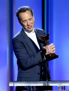 "Richard E. Grant accepts Best Supporting Male for ""Can You Ever Forgive Me?"" onstage during the 2019 Film Independent Spirit Awards (Photo by Tommaso Boddi/Getty Images)"