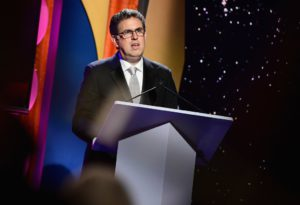 President of the Writers Guild of America West, David A. Goodman; Emma McIntyre/Getty Images
