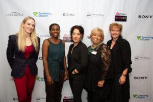 L-R: Emily Carmichael, Hanelle Culpepper, Deborah Chow, Bobbi Banks and Desma Murphy, Photo Credit: Ashly Covington