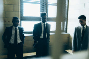 When They See Us, Episode 102 (L-R): Caleel Harris as Anton McCray, Ethan Herisse as Yusef Salaam, Marquis Rodriguez as Raymond Santana, Photo Credit: Atsushi Nishijima