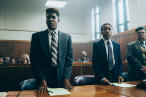 When They See Us, Episode 102 (L-R): Jharrel Jerome as Korey Wise, Asante Blackk as Kevin Richardson, Photo Credit: Atsushi Nishijima