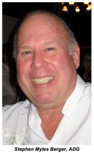 Stephen Myles Berger, ADG