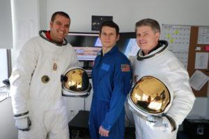 L-R: Lee Haugen, Scott Morris and John Axelrad