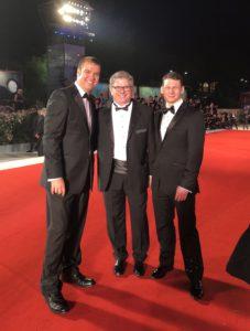 L-R: Lee Haugen, John Axelrad and Scott Morris