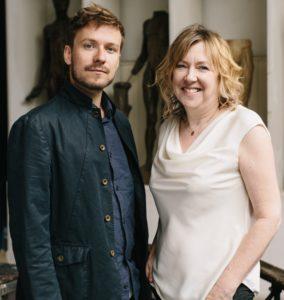 L-R: Matt Maude and Sarah Kerruish